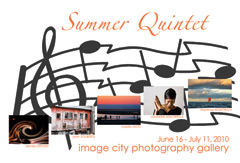Summer Quintet Showcard