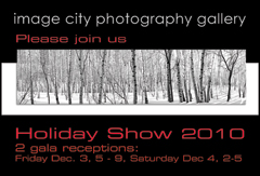 Holiday Show 2010 Card Front