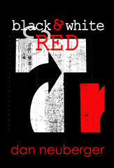 black & white & RED