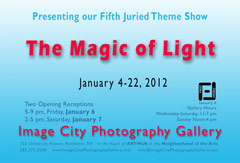 The Magic of Light Showcard