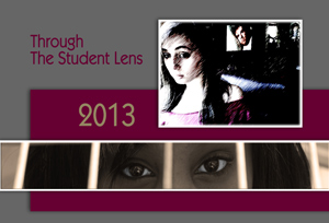Through the Student Lens 2013 Show Card