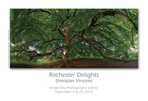 Rochester Delights Showcard Sheridan Vincent