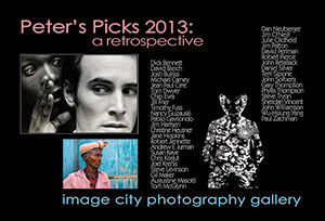 Peter's Picks 2013 Retrospective Show Card