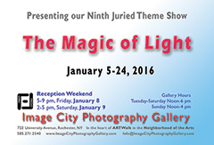 The Magic of Light 2016 Showcard