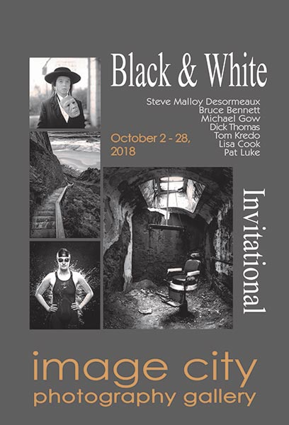 Black and White Invitational 2018 Post Card