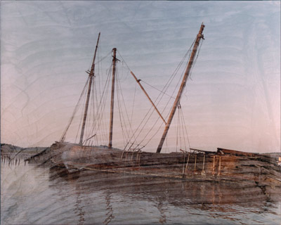 Ghost Ships of Wiscasset by Gary Thompson